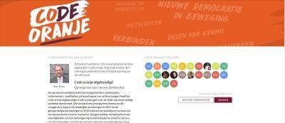"""Burgemeesters: """"Code oranje voor de democratie"""""""