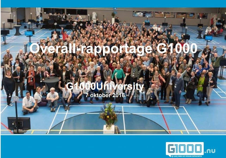 G1000: De cijfers