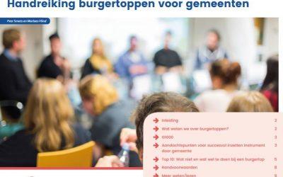 Handreiking Burgertoppen voor ambtenaren