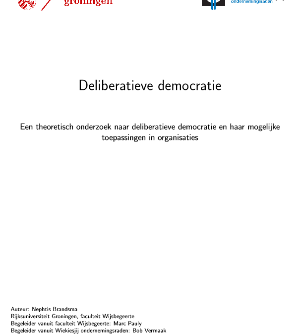 Literatuur over deliberatieve democratie